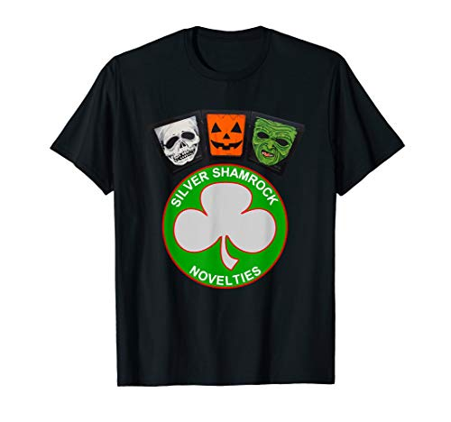 Halloween III Silver Shamrock and Masks -