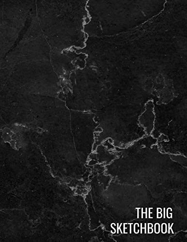 - The Big Sketchbook: Black Marble Art Drawing BooksSketching, Drawing, Creative Doodling to Draw and Journal