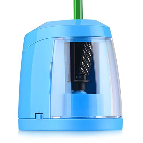 SMARTRO Pencil Sharpener, BEST Heavy Duty Steel Blade, Electric Pencils Sharpener with Auto Stop for Colored Pencils Artists Kids Adults by SMARTRO