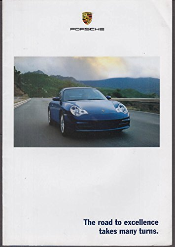 Porsche Sales Brochure - 2001 Porsche sales brochure Boxter S 911 Carrera Targa 4S Turbo GT2