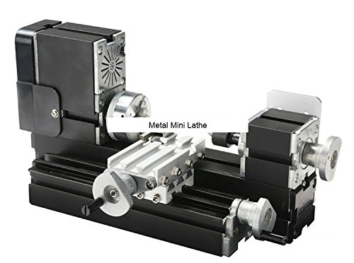 TZ20002M 60W Metal Mini Lathe/60W,12000rpm Big Power all metal lathe/metal mini lathe by MUCHENTEC
