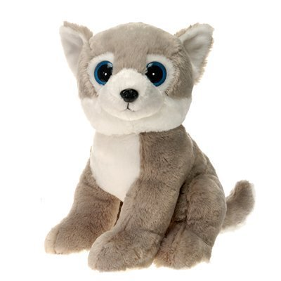 Garantía 100% de ajuste Husky Dog with Big Eyes Plush Stuffed Animal Animal Animal Juguete by Fiesta Juguetes - 15  by Fiesta Juguetes  minorista de fitness