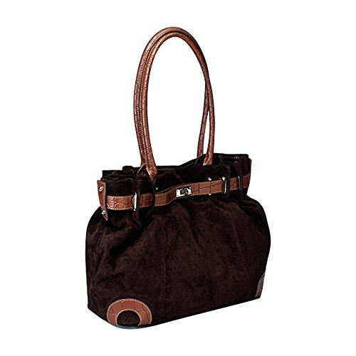 Gun Tote'n Mama Concealed Carry Legacy Handbag in Chocolate Brown - Model GTM-30/Brn -