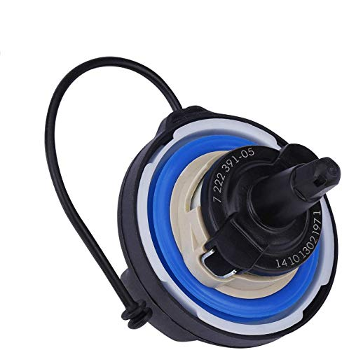 SMARTISAN gas cap Replace 16117222391, 10844, 31848 Compatible with BMW E39 E46 E60 E63 E65 E66 E70 E71 E90 F01 F02 F07 and more