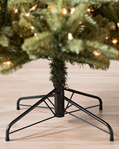 1652a08f192b Balsam Hill Classic Blue Spruce Narrow Artificial Christmas Tree