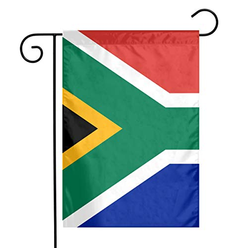Sweet Home Garden Flag South African Flag Red, White, Green and Blue Garden Flag Holiday Decoration Family Flag Parade Flag Match Flag Family Party Flag for Anniversary Yard Outdoor Decoration