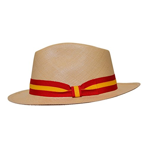Jual Borges   Scott Teardrop Fedora Panama Hat - Range of Colours ... 215c5f5bcfe8