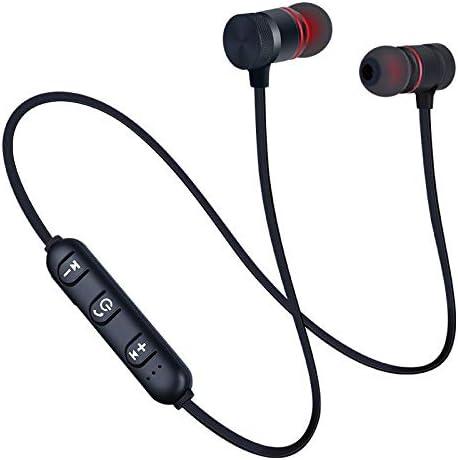VKO Magnetic Wireless Bluetooth Earbuds Headphones Earphones Handfree Sports Built-in Microphone Mic Black