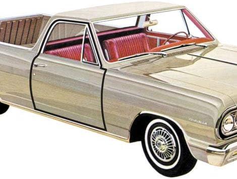 pair 1965-1966 Ford Mustang convertible /& hardtop new door weatherstrip seals