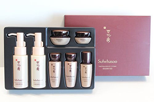 Sulwhasoo Time Treasure Trial Kit 7 Items and Hair Tie 1pc