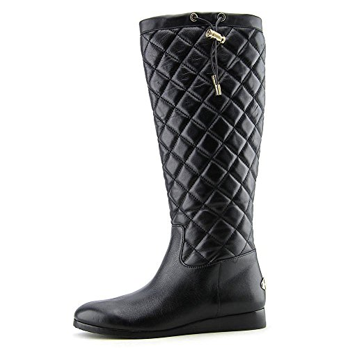 Michael Michael Kors Lizzie Quilted High Mujer Piel Botin Rodilla