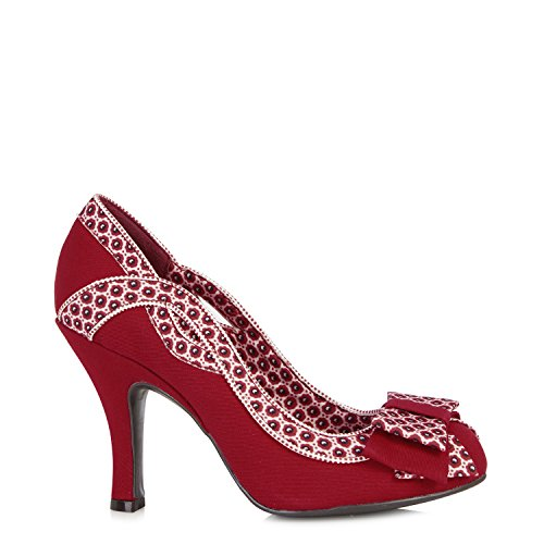 Ruby Shoo Ivy Shoes Red Red 6DzB4i