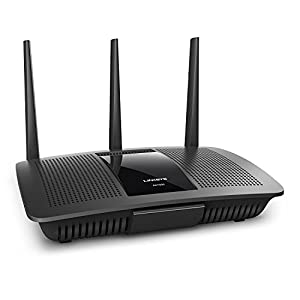 "Linksys 9 Works with Alexa Intelligent tri-band router with -speed Wi-Fi bands up to 2. 2 Gaps. ""Smart connect"" Intelligently chooses the best radio band for your wireless Mu-mimo+ Airtime Fairness improves Ming with 6 high power amplifiers focus and maximize performance and coverage for Both 2. 4GHz & 5GHz"