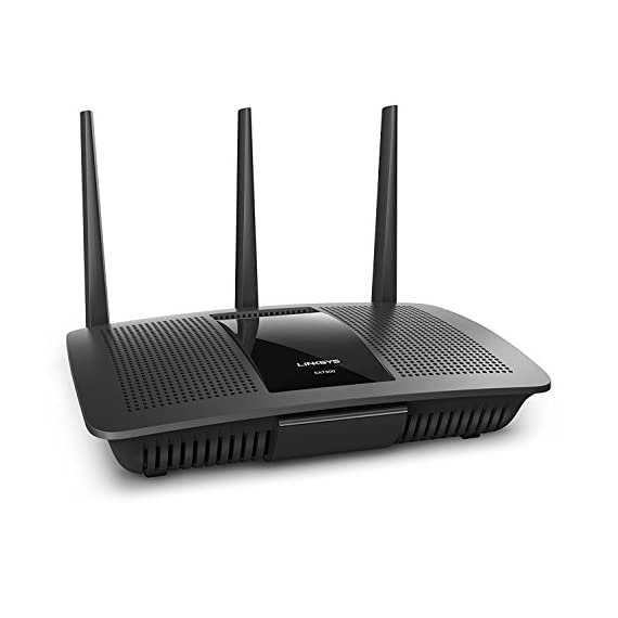"Linksys 1 Works with Alexa Intelligent tri-band router with -speed Wi-Fi bands up to 2. 2 Gaps. ""Smart connect"" Intelligently chooses the best radio band for your wireless Mu-mimo+ Airtime Fairness improves Ming with 6 high power amplifiers focus and maximize performance and coverage for Both 2. 4GHz & 5GHz"