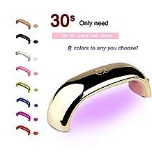 Fashionzone Rainbow 9W Mini LED Lamp USB Nail Dryer Curing UV Gel Polish Tool