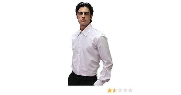 Fratelliditalia Camisa para Hombre algodón Restaurante Camarero de Trabajo Manga Larga Sala: Amazon.es: Deportes y aire libre
