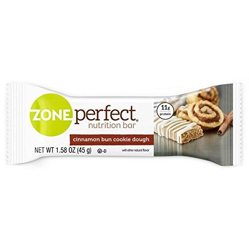 ZonePerfect Nutrition Snack Bars, Cinnamon Bun Cookie Dough, 1.58 oz, (30 - Cinnamon Sweet Cookies
