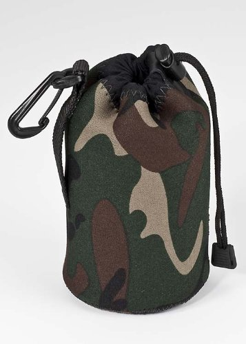 LensCoat LCLPMFG LensPouch Medium (Forest Green Camo)