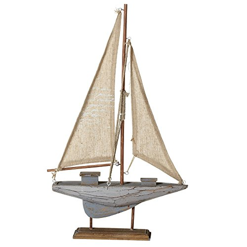 (Midwest-CBK Wooden Sail Boat,)