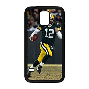 High Quality Phone Case For Samsung Galaxy S5 -Green Bay Packers Aaron Rodgers Jersey iPhone Cell Phone Case Cover-LiuWeiTing Store Case 17