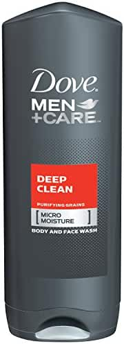 Dove Men+Care Body and Face Wash, Deep Clean 18 oz (Pack of 3)