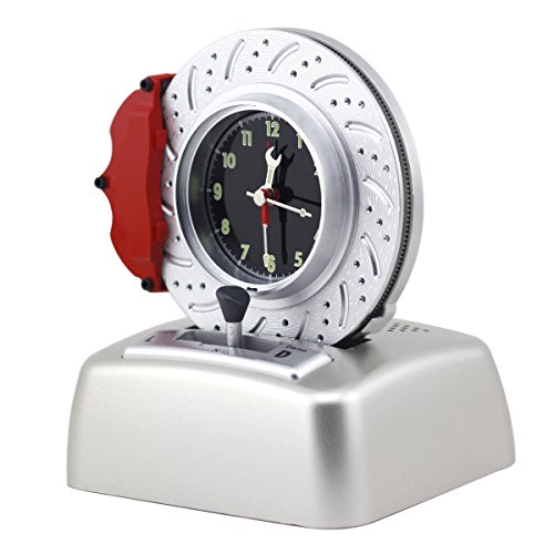 Kids Alarm Clock No Ticking Analog Battery Operated Cool