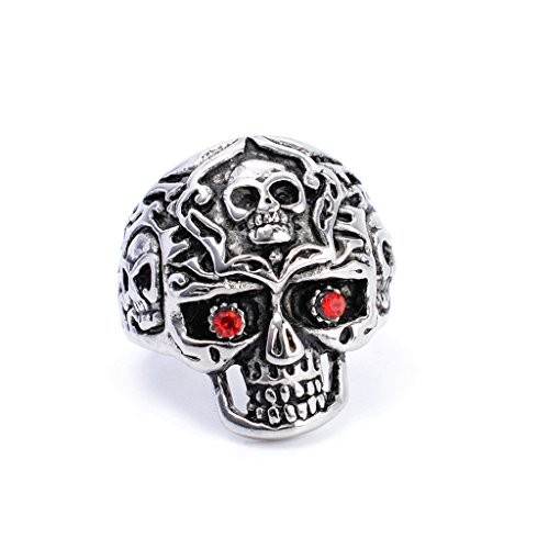 mens-316l-stainless-steel-red-eyes-skull-head-gothic-biker-ring-silver-size-9