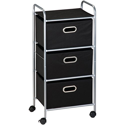 Honey Can Do CRT 02184 Rolling Storage Chrome