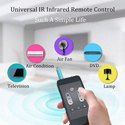 Amazon.com : Universal IR Infrared Remote Control TV STB DVD For Samsung LG iPhone Mobiles : Camera & Photo