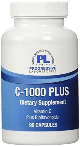Progressive Labs C-1000 Plus Supplement, 90 Count ()