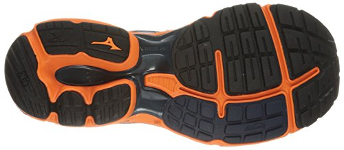 Mizuno Wave Rider 18 Grande Fibra sintética Zapato para Correr
