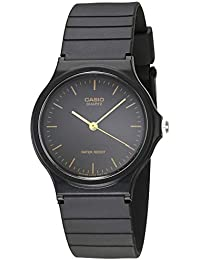 Mens MQ24-1E Black Resin Watch · Casio