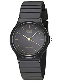 0003344803b5 Casio Men s MQ24-1E Black Resin Watch