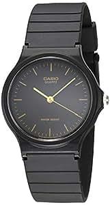 Amazon.com: Casio MQ24-1E - Reloj de resina negro para ...