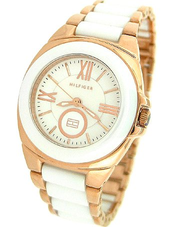 Tommy Hilfiger Two Tone Bracelet Ladies Watch - 1781019