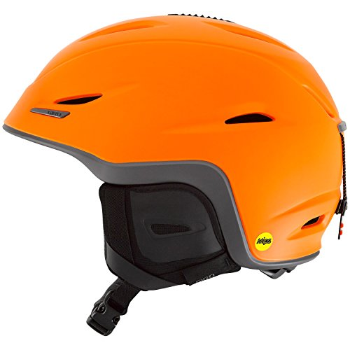 Giro Union MIPS Snow Helmet - Men's Matte Flame Orange/Titanium Medium by Giro