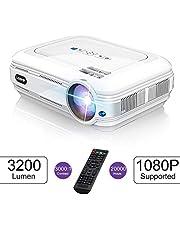 LESHP Proyector LCD 3200 Lúmenes HD 20000 Horas Manual en Español