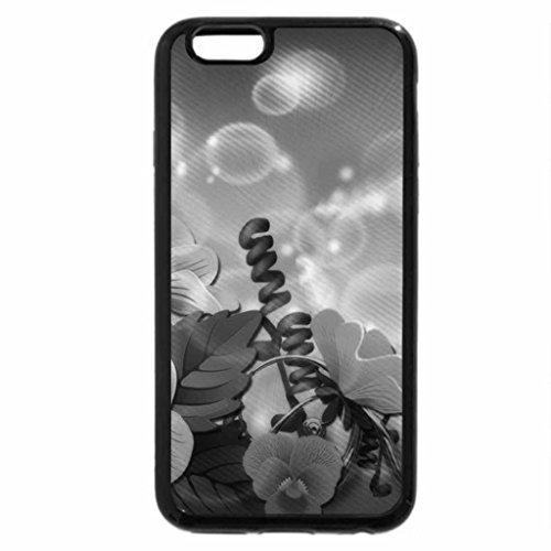 iPhone 6S Plus Case, iPhone 6 Plus Case (Black & White) - .Glamor of Pollens.