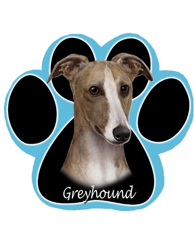 Greyhound Non Slip Paw Shaped Mouse Pad