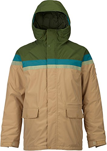 Burton Men's Docket Jacket, Rifle Green/Jasper/Olive Branch Distress/Kelp, X-Large ()