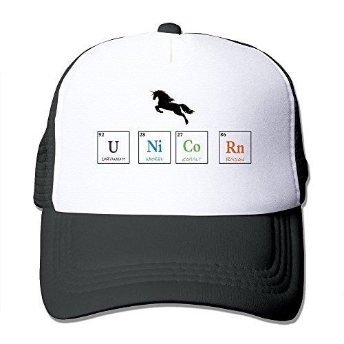 Cool Unicorn Of Periodic Table Trucker Mesh Baseball Cap Hat - Ford Houston Tom