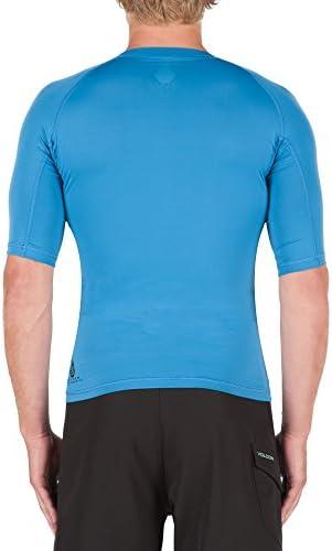 [ボルコム] Tシャツ Volcom Men's Lido Solid Short Sleeve Rashguard メンズ [並行輸入品]