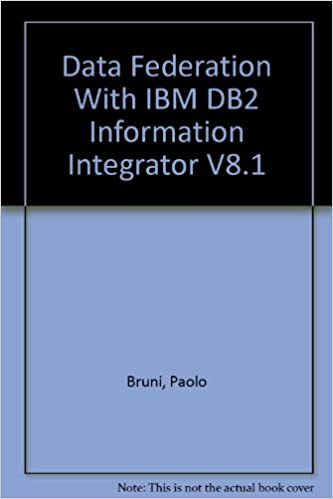 Data Federation With IBM DB2 Information Integrator V8 1: Paolo