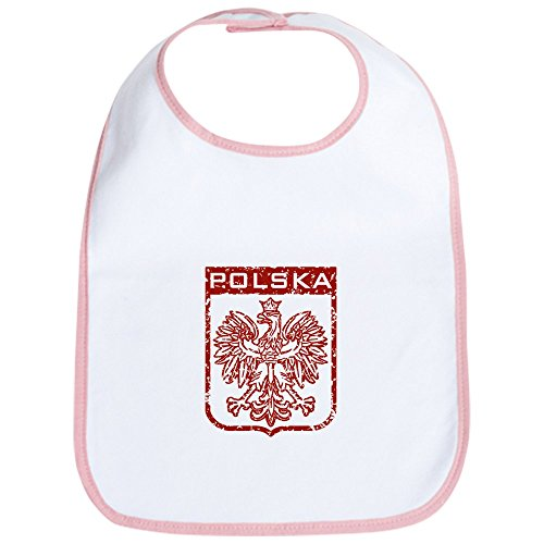CafePress Polska Bib Cute Cloth Baby Bib, Toddler Bib ()