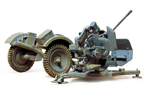 (Tamiya 35102 1/35 German 20mm Flak 38 Kit)