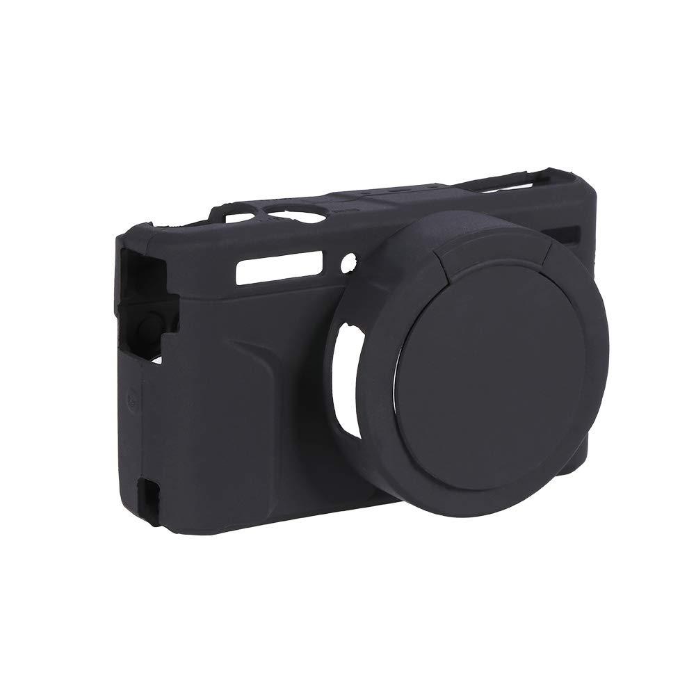 G7X Mark II EBTOOLS Cubierta de la Caja de la C/ámara de Silicona Suave Protectora para Canon G7XII