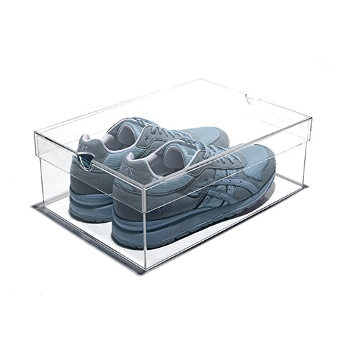 Clear Acrylic Shoes - 8