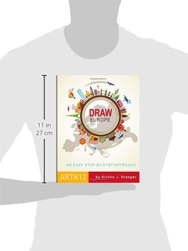 Draw Europe: Kristin J  Draeger: 9781514150160: Amazon com: Books