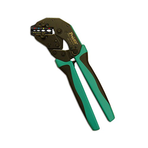 Pro'sKit CP-372FD27 CrimPro Crimper with Insulated Terminal Die, Size 22-8 AWG
