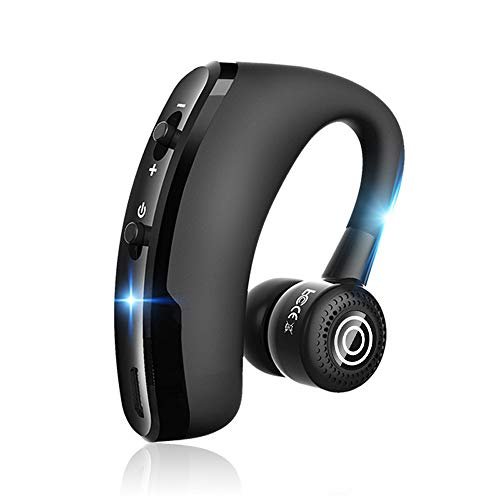 MoSunx Headphones Wireless Bluetooth Headset, Universal Bluetooth CSR v4.0 Headset 8-10 Hours Talking time Car Wireless Sports Noise Cancelling Earphone (Black)